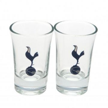 Tottenham Hotspur 2 Pack Shot Glass Set